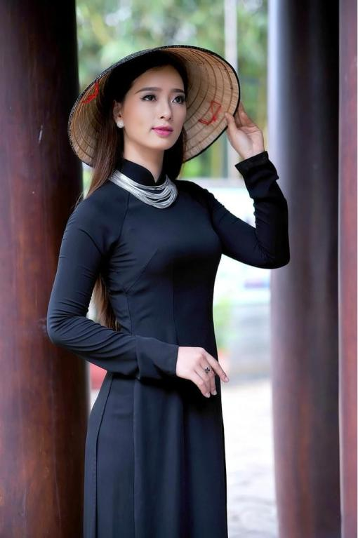 Sell Ao Dai Viet Nam Mysterious Black