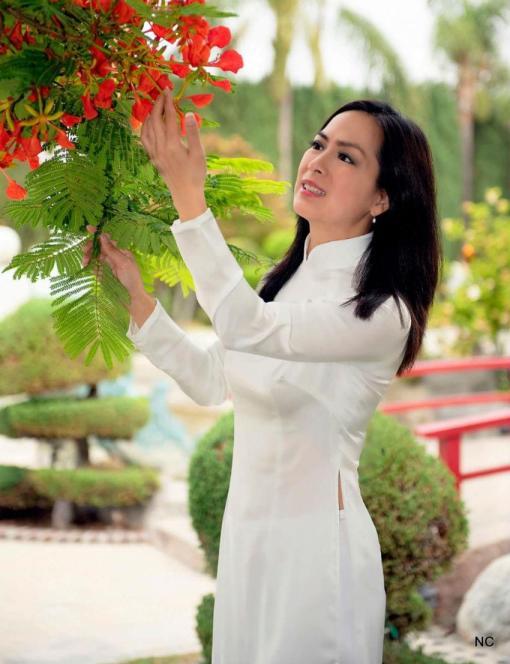 Shop Vietnam Ao Dai White Satin