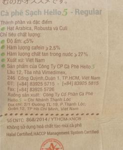 Café premium vietnamien Bonjour 5 3