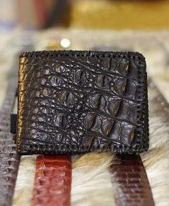 Crocodile Wallet Leather