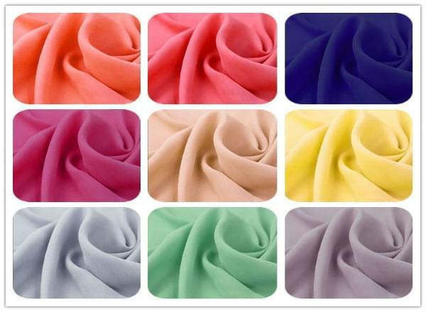 choose suitable ao dai fabric chiffon