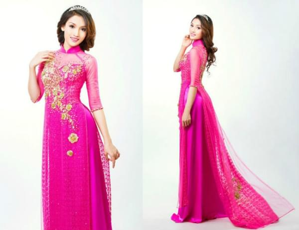 choose suitable ao dai fabric voile
