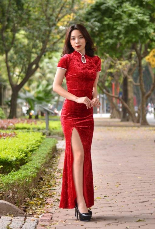 Vietnam Modern Cheongsam 1
