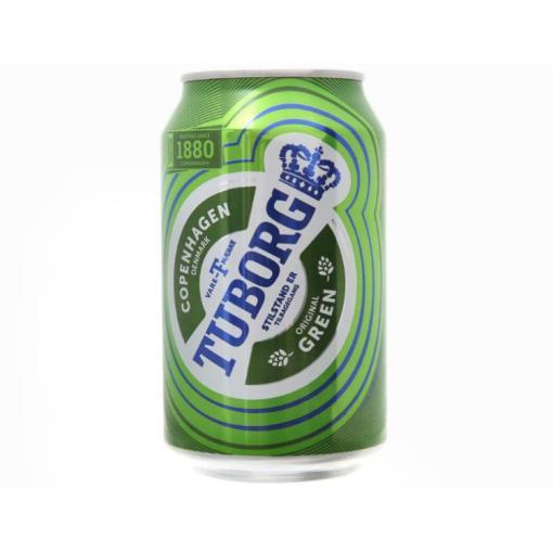 Beer Tuborg Original Green