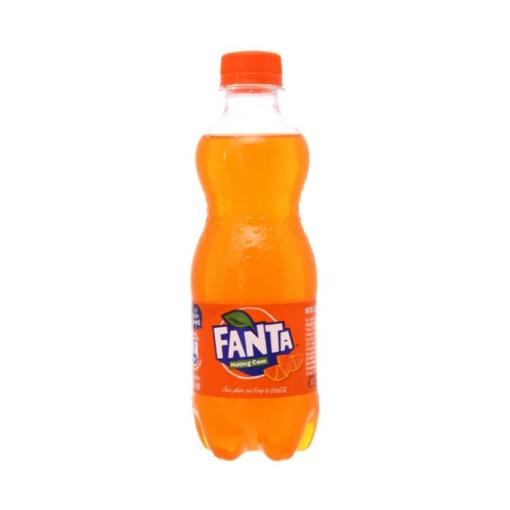Fanta Soft Drink Orange Flavor