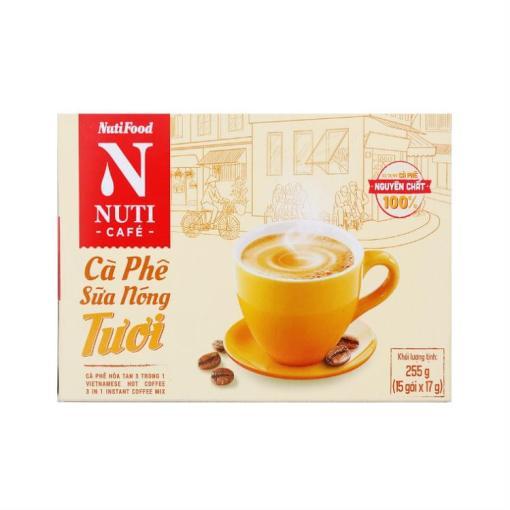 Milk Hot Coffee Fresh NUTICAFÉ