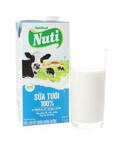 Nuti Without Sugar Fresh Milk