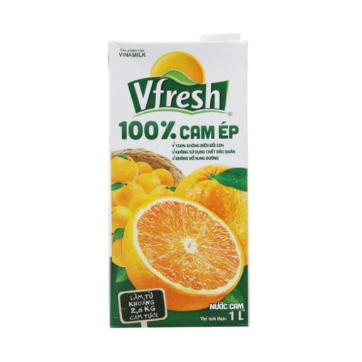 Orange Vfresh Natural Fruit Juice