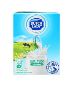 Pure Fresh Milk With Sugar