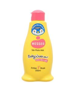 Baby Wash Wesser Amber Musk