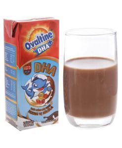 Ovaltine DHA+ Barley Drink Chocolate