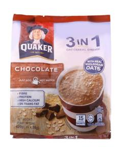 Quaker Oat Cereal Drink Chocolate