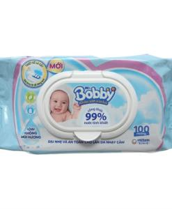 Unscented Wet Tissue Bobby