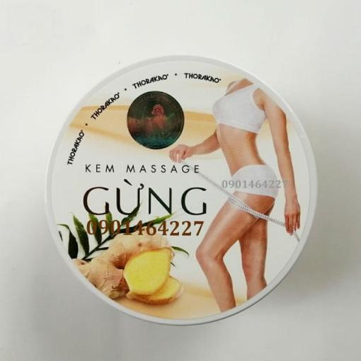 Ginger Massage Cream Thorakao