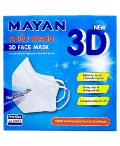 Mayan 3D adult face mask