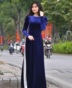 Velours Ao Dai Vietnam 1