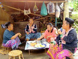 Noord-Thailand, tegen de grens met Birma