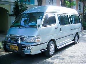 Reizen met minibus