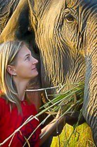 Ontmoeting met een olifant veranderde m'n leven