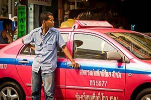 Tips voor als je een taxi in Bangkok neemt
