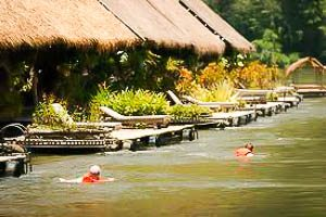 Jungle Rafts Floatel