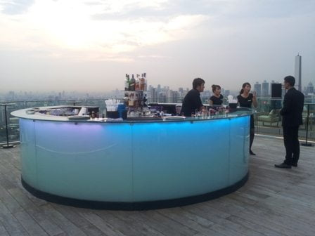 Octave Rooftop Lounge and Bar in Bangkok