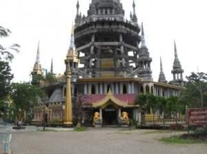 Zes locaties in Thailand