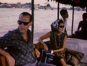 cruise op de rivier van Bangkok