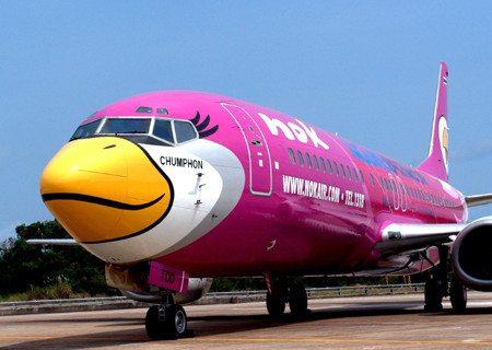 Nok Air vliegt vaker naar Phrae