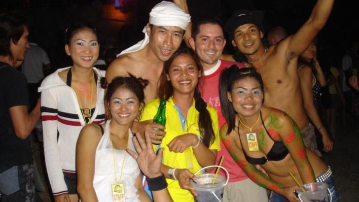 Top 5 van beste feestplekken in Thailand