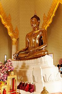 Bangkok: Wat Traimit met de gouden Boeddha