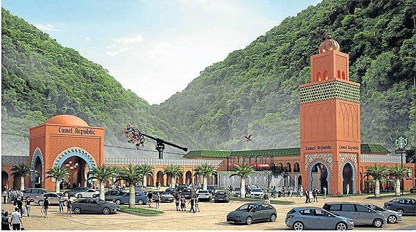 Camel Republic in Cha-am gaat in juni open