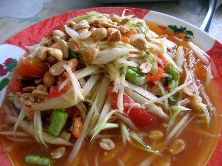 Som Tam recept, de populaire Thaise salade