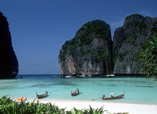 De beroemde Thaise eilanden (video)