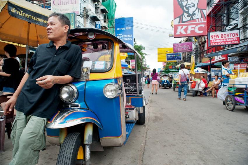 Top 5 van scams in Thailand