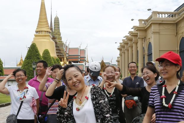 Chinezen geen visum nodig