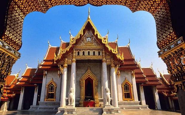 Thailand in vogelvlucht