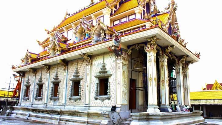 Wat Pariwat, de 'David Beckham tempel'