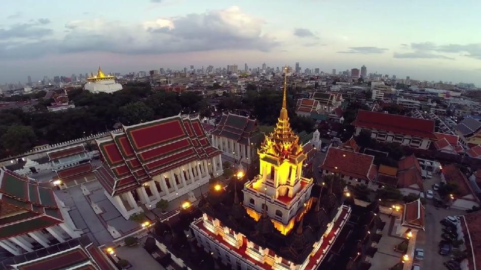 de tempels van bangkok