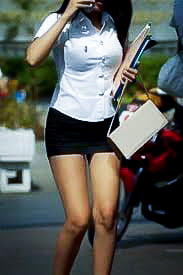 Thaise schooluniform hot in Japan