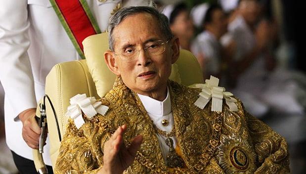 De Thaise koning Bhumibol overleden