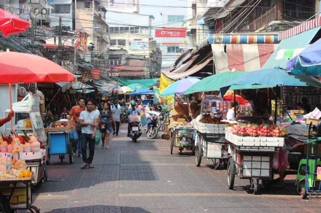 markten van Bangkok