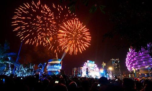 Oud en Nieuw vieren in Thailand