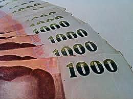 Zwakker euro zorgt voor sterke baht