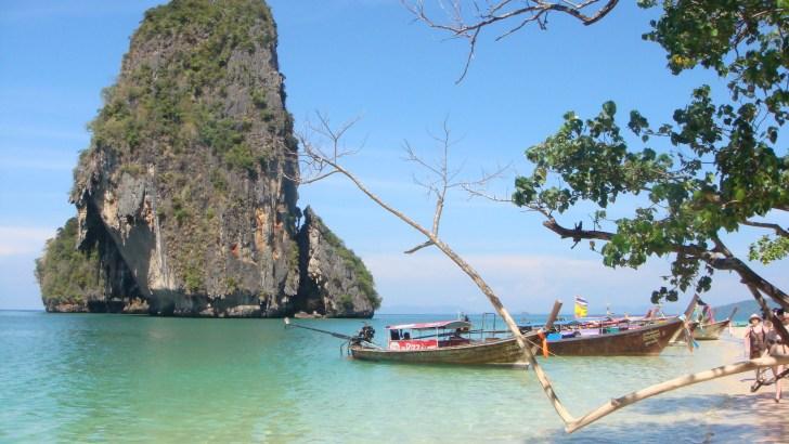 Vier ongerepte stranden van Thailand