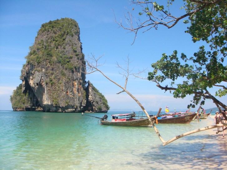 ongerepte stranden van Thailand