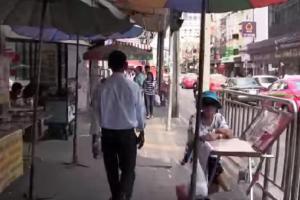 wandelen in bangkok