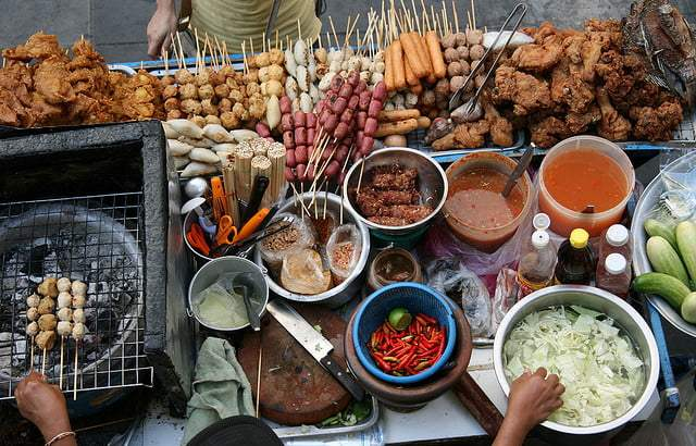 Eten op straat in Bangkok: veilig of niet?