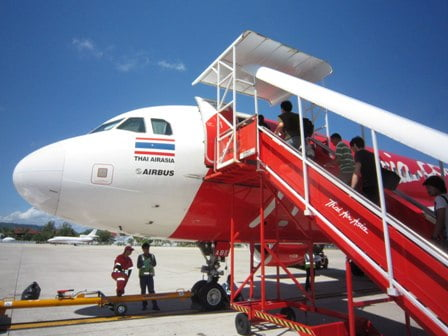 Vliegen met AirAsia vanaf Don Mueang Airport
