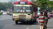 Bus in Bangkok: goedkoop, maar zeker niet snel